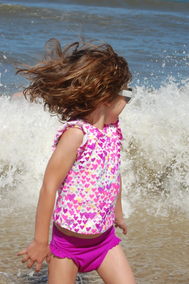 My gorgeous beach baby