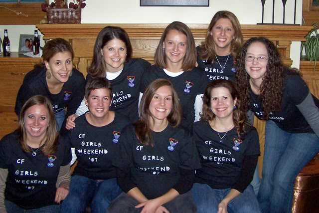 The girls back in 2007. Such an exciting event, we needed t-shirts to commemorate it!