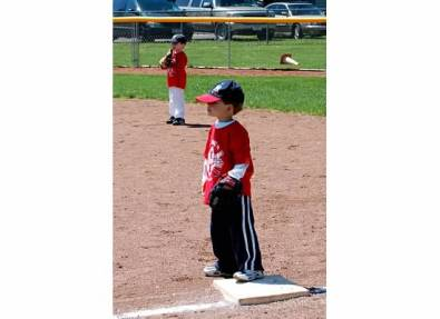 Back when he was 4 and every game ended in a tie.